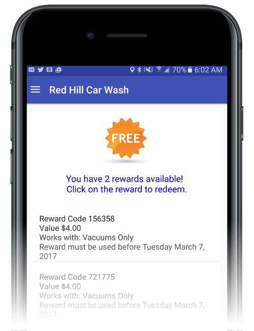 How-to Redeem Wash Codes